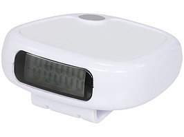 Трекинговый шагомер с экраном LCD, белый (артикул 10030302)
