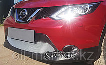 Защита переднего бампера, овальная для Nissan Qashqai (2014-2019), фото 2