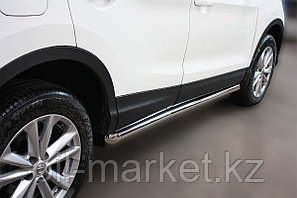 Пороги, труба  для Nissan Qashqai (2014-2019), фото 2