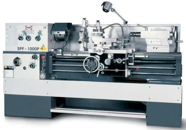 Универсальный токарный станок SPF-1000P