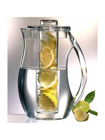 Кувшин для напитков Мохито Fruit Infusion (Фрут Инфьюжн) с колбой для ягод или фруктов, 2 л