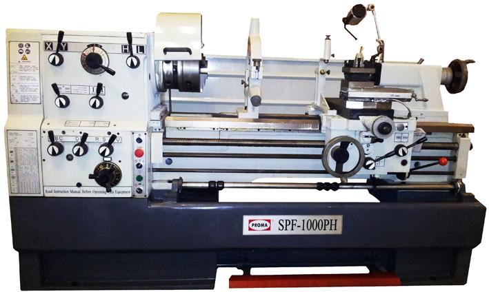 Универсальный токарный станок SPF-1000PHS с УЦИ