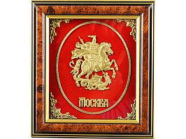 Панно настольное Герб Москвы