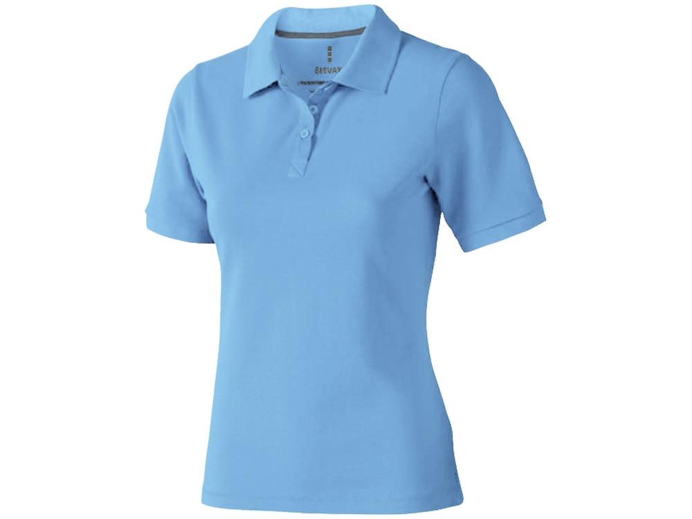 Рубашка поло Calgary женская, голубой