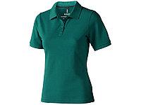 Рубашка поло Calgary женская, изумрудный, фото 1