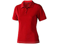 Рубашка поло Calgary женская, красный, фото 1