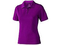 Рубашка поло Calgary женская, темно-фиолетовый, фото 1
