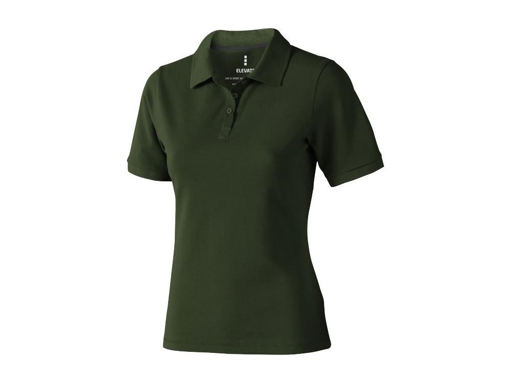 Рубашка поло Calgary женская, армейский зеленый