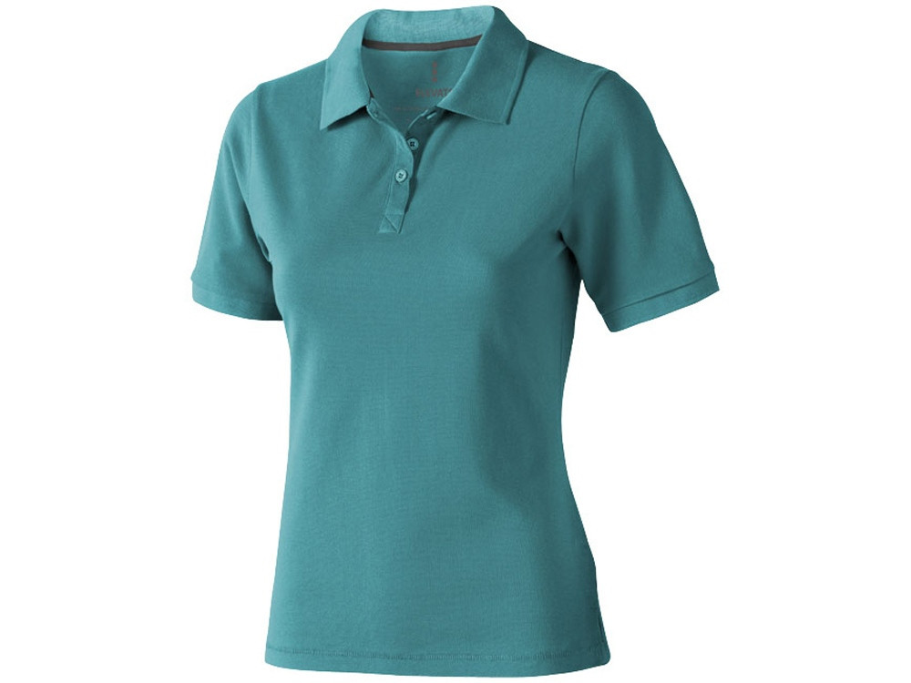 Рубашка поло Calgary женская, аква