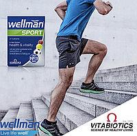 Wellman Sport - Комплекс витаминов и биодобавок для активных мужчин, занимающихся спортом. Англия