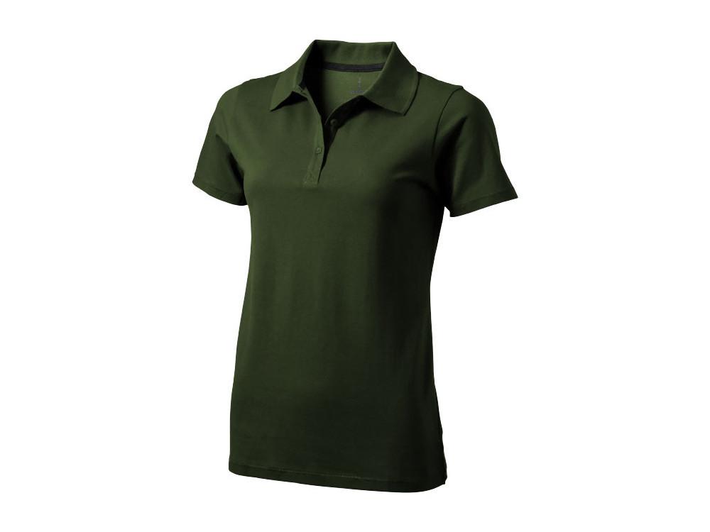 Рубашка поло Seller женская, армейский зеленый