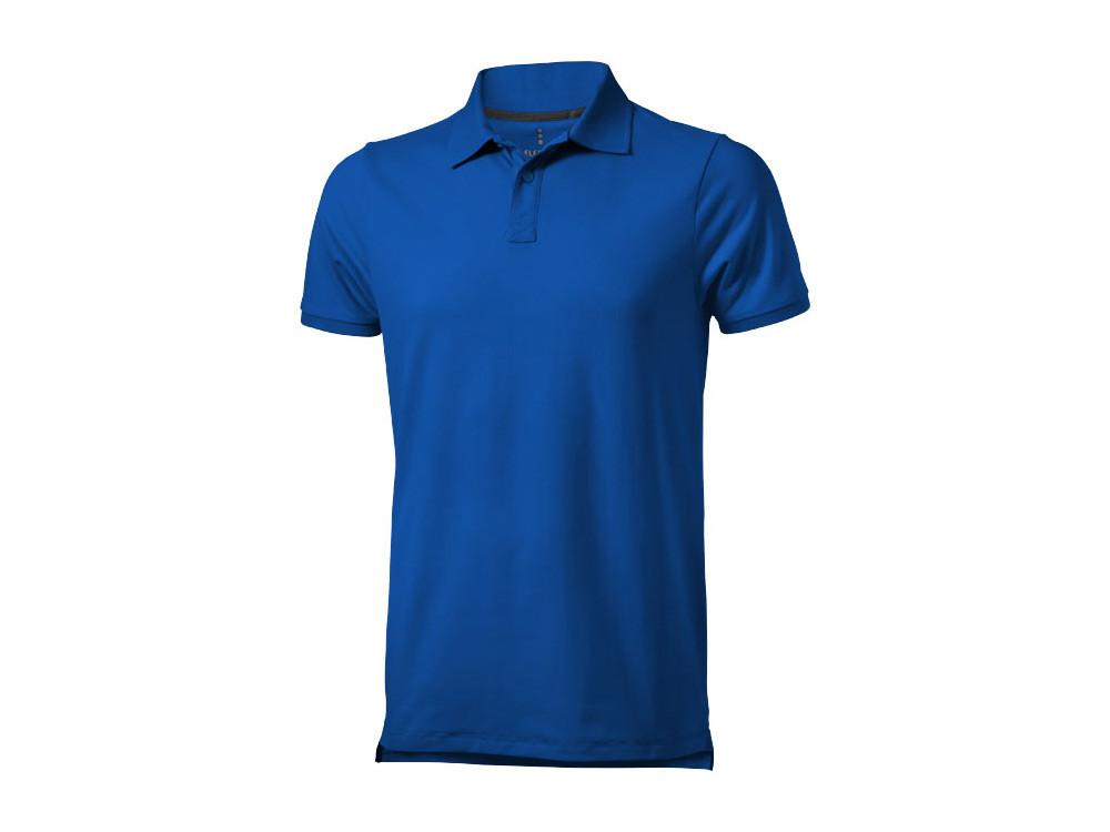 Рубашка поло Yukon мужская, синий
