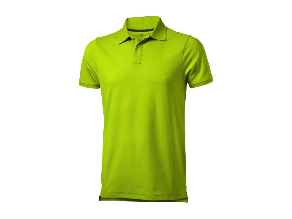 Рубашка поло Yukon мужская, зеленое яблоко