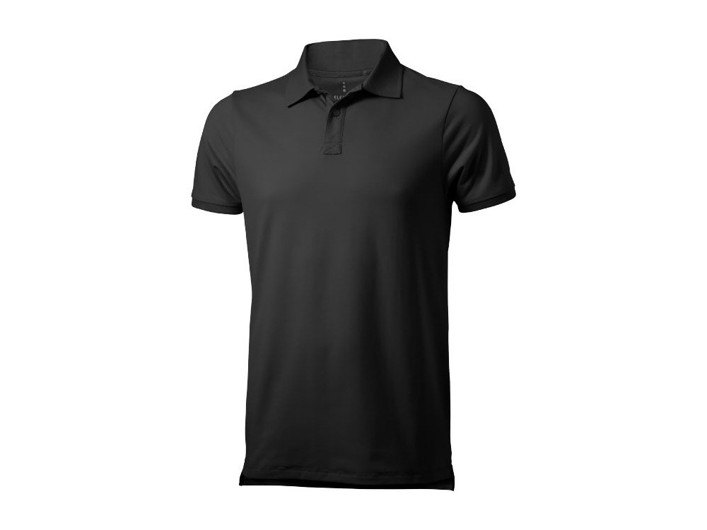 Рубашка поло Yukon мужская, антрацит