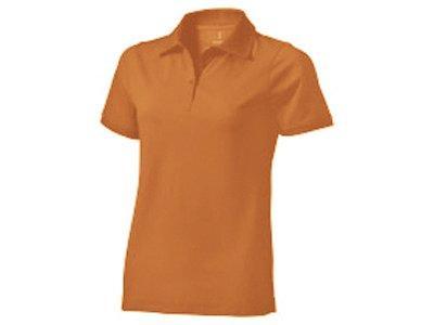 Рубашка поло Yukon женская, оранжевый