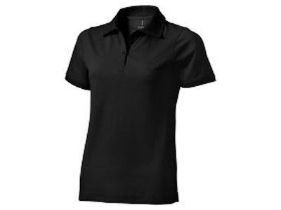 Рубашка поло Yukon женская, черный