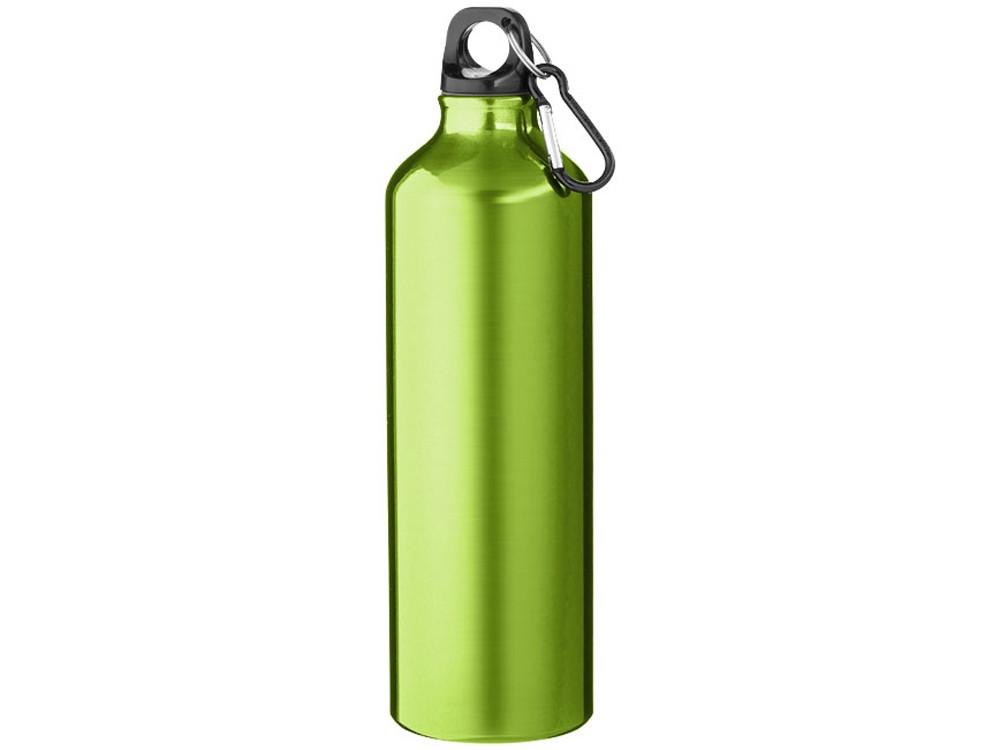 Бутылка Pacific с карабином, зеленый