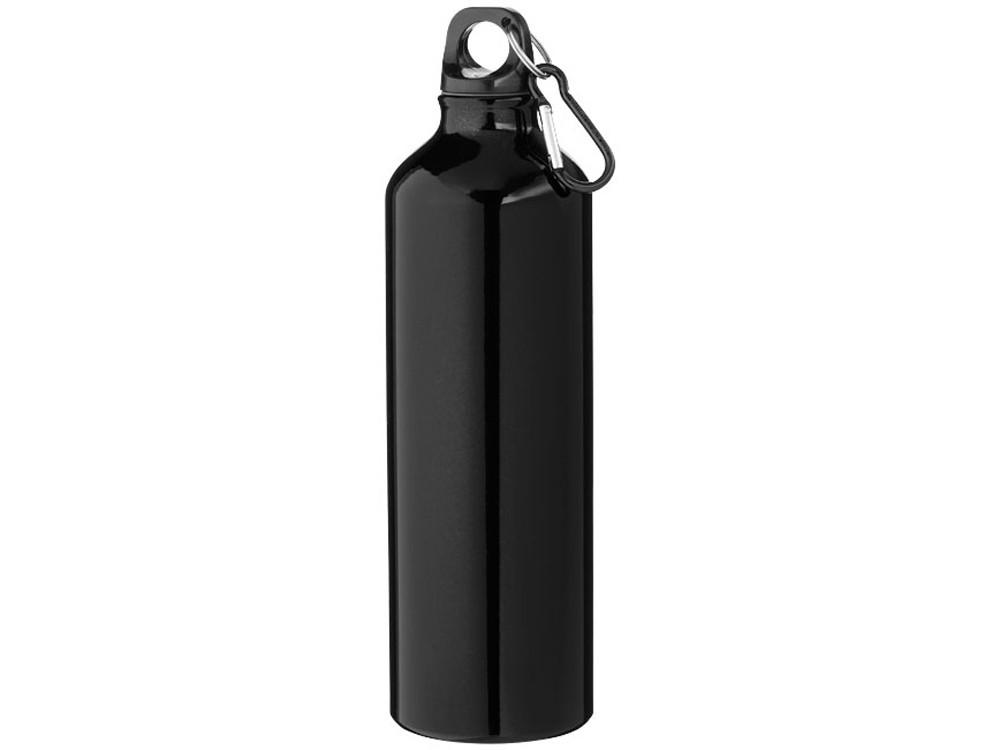 Бутылка Pacific с карабином, черный