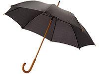 Зонт-трость Jova 23 классический, черный, фото 1