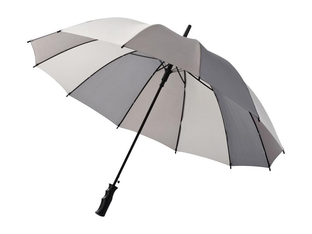 Зонт трость Trias, полуавтомат 23,5, серый
