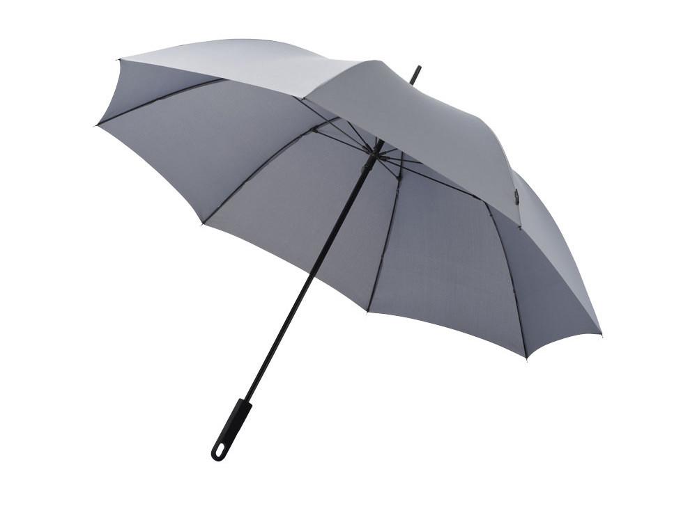 Зонт трость Halo, механический 30, серый
