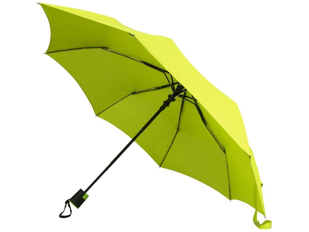 Зонт Wali полуавтомат 21, зеленое яблоко
