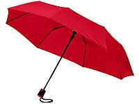 Зонт Wali полуавтомат 21, красный, фото 1