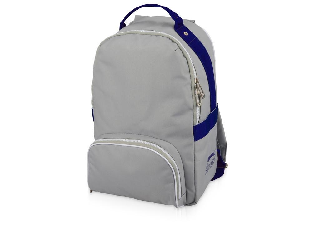 Рюкзак York, серый/синий