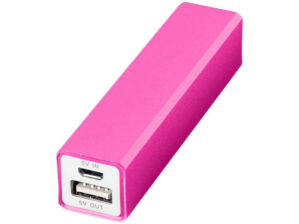 Портативное зарядное устройство Volt, розовый