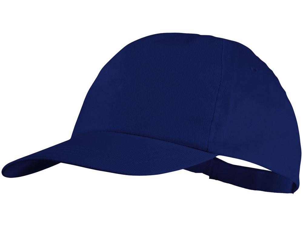 Бейсболка Basic, 5-ти панельная, ярко-синий