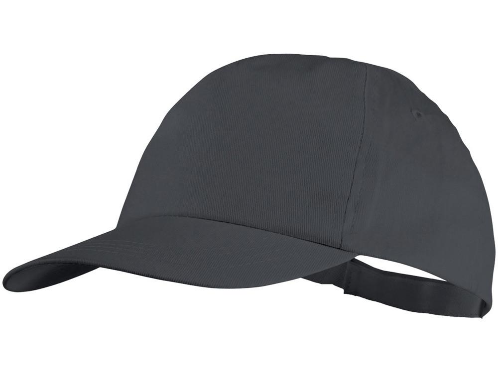Бейсболка Basic, 5-ти панельная, серый