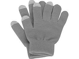 Перчатки для сенсорного экрана, серый, размер S/M (артикул 869508.01)