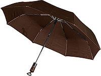 Зонт Спенсер, коричневый, фото 1