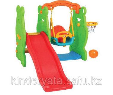 Детский игровой комплекс Лягушка Edu Play
