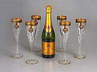 Набор бокалов для шампанского Сила льва, фото 1