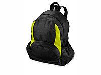 Рюкзак Bamm-Bamm, черный/зеленое яблоко, фото 1