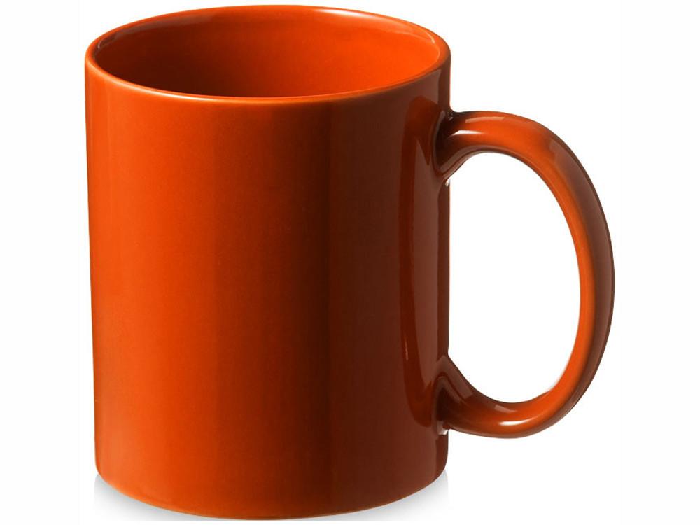 Кружка керамическая Santos, оранжевый