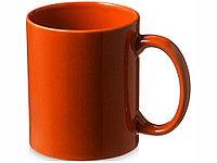 Кружка керамическая Santos, оранжевый, фото 1