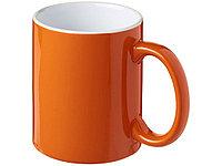 Керамическая кружка Java, оранжевый/белый, фото 1