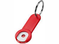 Брелок-держатель для монет Shoppy, красный, фото 1