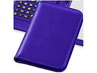 Блокнот А6 Smarti с калькулятором, пурпурный, фото 1