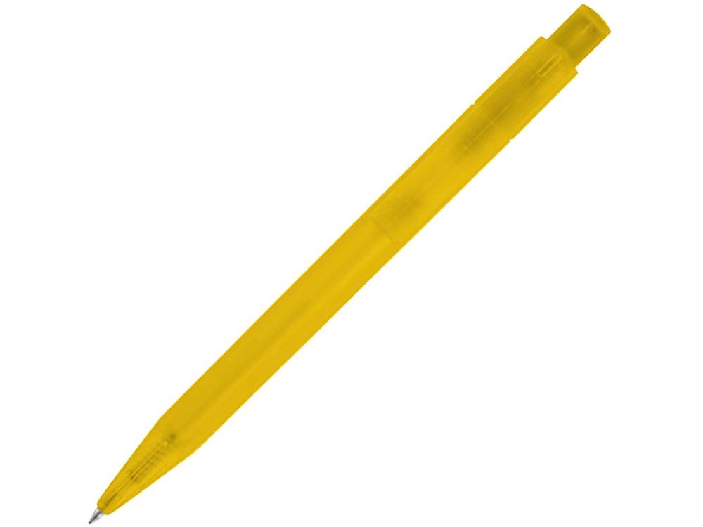 Ручка шариковая Huron, желтый