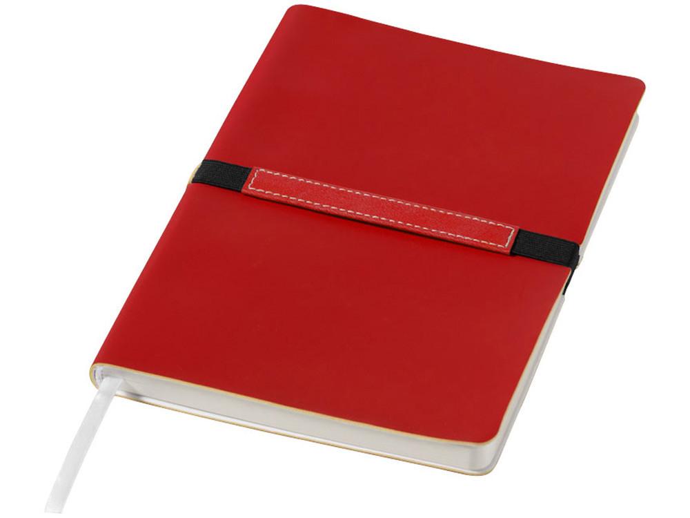 Блокнот А5 Stretto, красный