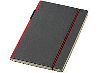 Блокнот А5 Cuppia, черный/красный, фото 1