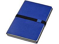 Блокнот А5 Doppio, темно-синий/серый, фото 1