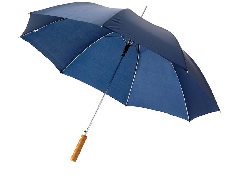 Зонт-трость Lisa полуавтомат 23, темно-синий