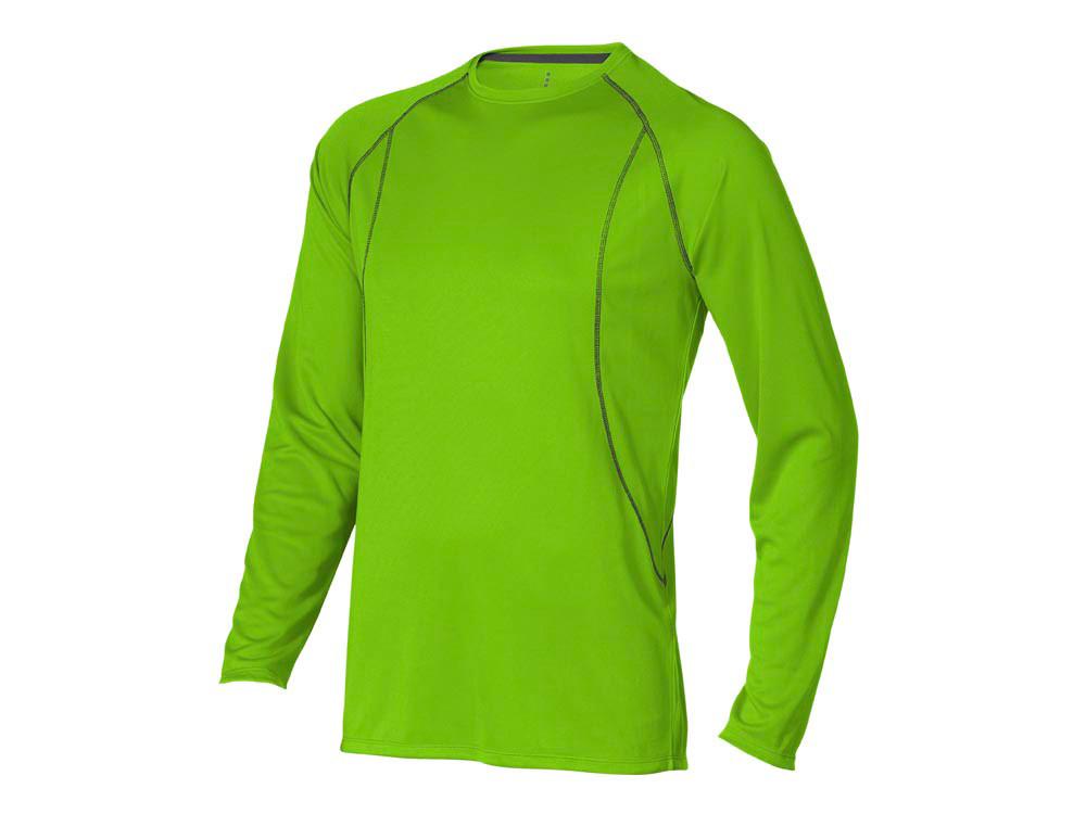 Футболка Whistler мужская с длинным рукавом, зеленое яблоко