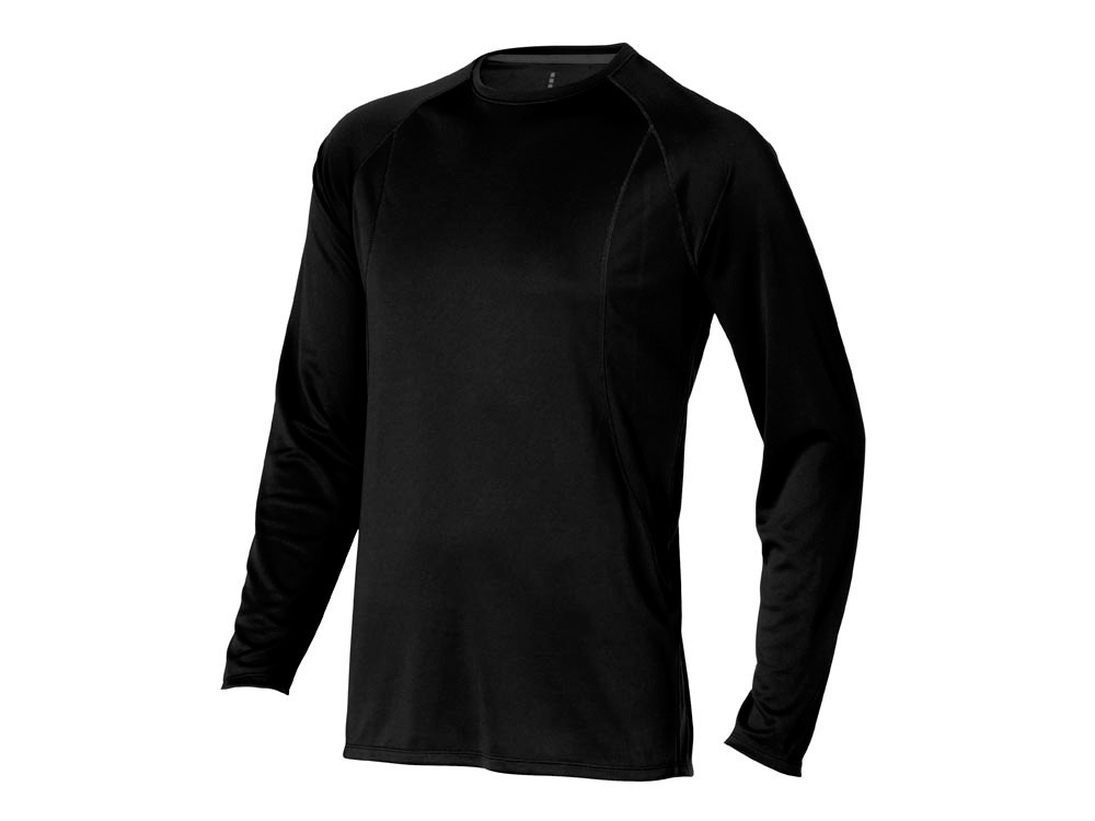 Футболка Whistler мужская с длинным рукавом,черный