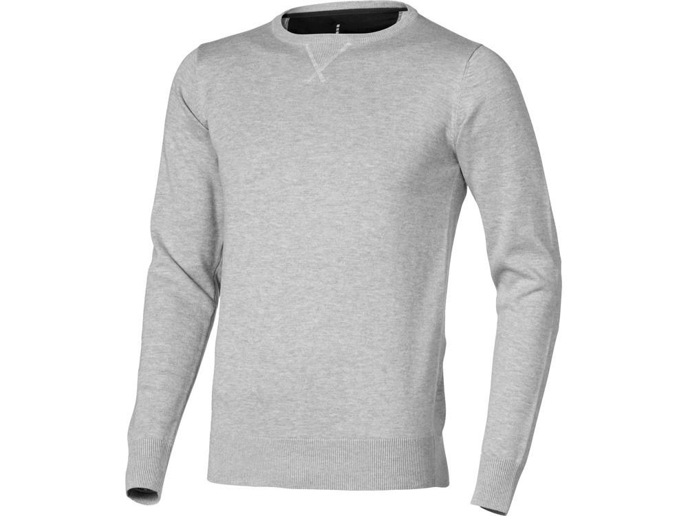 Пуловер Fernieмужской, серый меланж