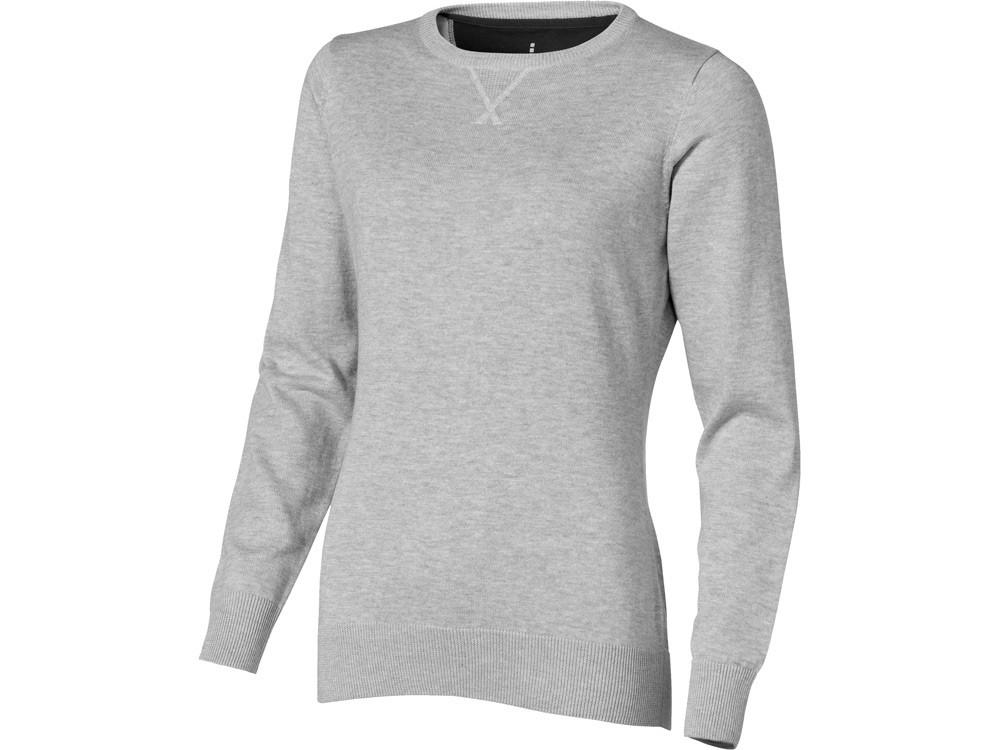Пуловер Fernieженский, серый меланж